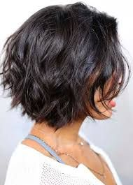 Image result for short haircuts for women with thick hair