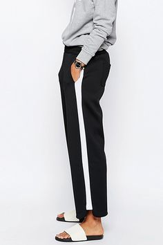 Side Stripe Trousers | sheerluxe.com