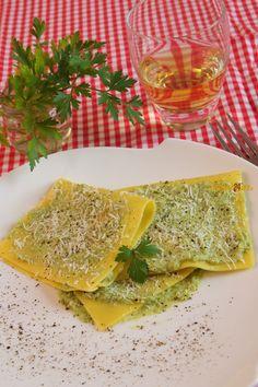 Fazzoletti di Pasta con Ricotta e Piselli – Primo Light, Anche Senza Glutine – Ricette di Cucina