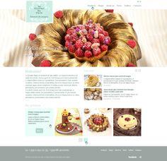"""Изработка на уеб сайт каталог с адаптивен дизайн на Ле Гурме Де Пари  Ле Гурме Де Пари ни възложиха задачата да създадем красив, функционален уеб сайт, който да представя всички приготвяни от тях вкусотии. Решихме го в пастелни цветове, характерни за стила """"прованс"""". Web Design, Gallery, Gourmet, Design Web, Roof Rack, Website Designs, Site Design"""