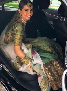 Real bride Meghna Jhuremalani in Sabyasachi for her wedding in Rome, Italy. Indian Wedding Outfits, Pakistani Outfits, Bridal Outfits, Indian Outfits, Indian Reception Outfit, Wedding Dresses, Dress Indian Style, Indian Dresses, Indian Attire