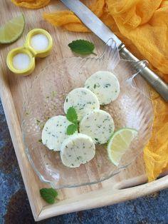 Lime-os, citromfüves fűszervaj recept