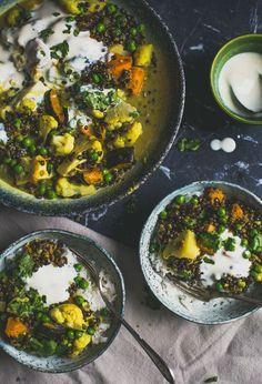 Deze curry met linzen is snel klaar, goedkoop en super lekker!