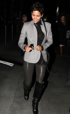 Halle Berry Butterfly Sunglasses - Halle Berry Looks - StyleBistro