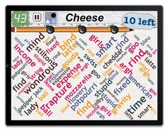 Word Mess: Find 10 kinds of cheese!