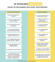18 magic phrases to reconnect with your child, Education Montessori Education, Montessori Activities, Infant Activities, Educational Activities, Kids Education, Education Positive, Positive Attitude, Classroom Management, Kids And Parenting