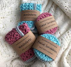 100% cotton, reusable Crotchet, Crochet Baby, Baby Shop, Fun, Cotton, Handmade, Hand Made, Crochet For Baby, Handarbeit