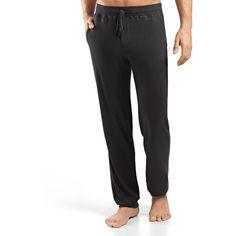 Hanro Lorenzo Soft-Knit Pants (520 BRL) ❤ liked on Polyvore featuring men's fashion, men's clothing, beluga, men's apparel pajamas and hanro