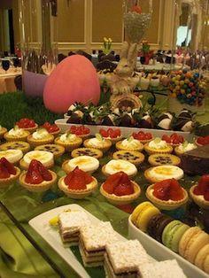 The Ritz-Carlton Coconut Grove for Easter Brunch (honey baked ham recipe)