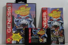The-Adventures-of-Mighty-Max-WITH-BOX-Sega-Genesis-GEN