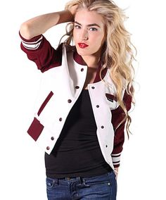 Cropped Baseball Jacket - JacketIn