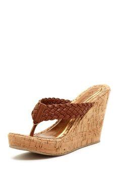 Noria Wedge Sandal by Groove on @HauteLook