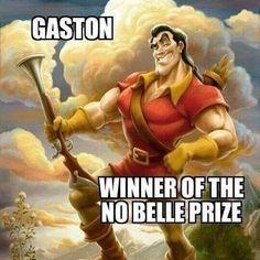 Disney, funny, and memes: gaston winnerofthe nobelle prize best disney puns Disney Puns, Disney Princess Memes, Funny Disney Jokes, Disney Quotes, Walt Disney, Princess Quotes, Disney Facts, Disney Princesses, Funny Shit