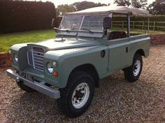 1972 Land Rover 88 Series III soft top canvas.