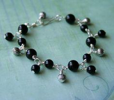 Beaded Charm Bracelet - via @Craftsy