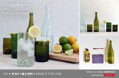 HomeMade Modern EP1.1 Wine Bottle Glasses