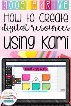 Have you heard of Kami? Check out a guide to this free application and how it can help your students annotate digital resources. #technologyintheclassroom #techforteachers #techtoolsforteachers #teachertechtools #techintheclassroom #teacherapps #kami Teaching Technology, Educational Technology, Technology In Classroom, Technology Tools, Technology In Schools, Technology Integration, Teacher Resources, Classroom Resources, Teacher Pay Teachers