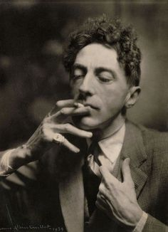 """Mirrors should think longer before they reflect."" Jean Cocteau, 1939, photo by Laure Albin Guillot"