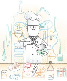 Chefs, Scientists And Viceversa on Behance