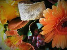 Bouquet automnal vintage signé L'espace fleurs et déco espacefleursetdeco.com