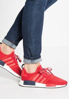 adidas Originals NMD R1 - Sneaker low - vivid red collegiate navy - Zalando. de 24705f39fb2de