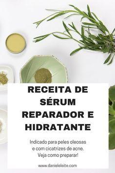 Skin Serum, Facial Serum, Diy Beauty, Beauty Hacks, Homemade Cosmetics, Natural Shampoo, Beauty Recipe, Natural Cosmetics, Vegan Life