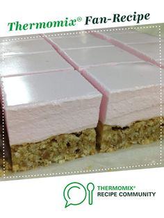 Recipe Marshmallow slice by CarlyHill, learn to make this recipe easily in your kitchen machine and discover other Thermomix recipes in Desserts & sweets. Sweets Recipes, Brownie Recipes, My Recipes, Favorite Recipes, Family Recipes, Marshmallow Slice, Marshmallow Creme, Bellini Recipe