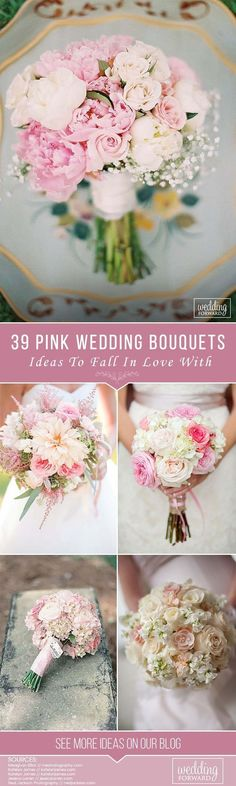 39 Soft Pink Wedding Bouquets To Fall In Love With ❤️ These soft pink wedding bouquets could give you so much inspiration! Gentle and feminine colors with perfect accents. So cute and beautiful. See more: http://www.weddingforward.com/pink-wedding-bouquets/ #wedding #bouquet #pinkweddingbouquets #weddingbouquets