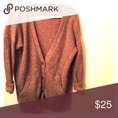 Oversized Free People Sweater This cardigan sweater goes perfect with so many things. Throw on with some leggings or  jeans and t underneath. Free People Sweaters Cardigans