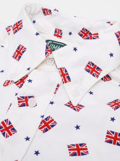 Gitman Vintage - Union Jack Shirt:  This is pretty damn tasty. Good timing from the boys at Gitman.  c/o present-london.com