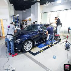 Car protection by Ceramic Pro in process #ceramicpro #automotive #lifestyle #saudiarabia #polish
