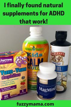After tons of trial and error, I have found these supplements that  really do help my son manage his ADHD.