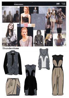 Fashion Design/Apparel Image - Tunderdomemoodboardrange.jpg - London  United Kingdom