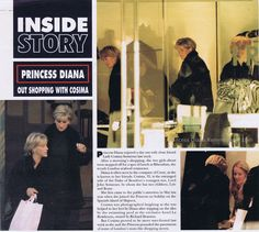 """Lady Annabel Goldsmiths daughter and sister to Jemima Kahn. Got a letter from Princess Diana, she wrote """" The brakes of my car have been tampered with, if something does happen to me it will be M15 or M16."""" This was in 1995"""