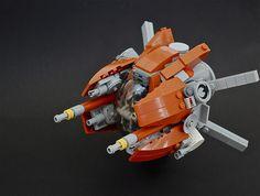 Lego spaceship: Zodiac