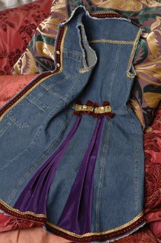 @: Refashion Blue-jean dress