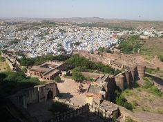 Jodhpur la città blu, India