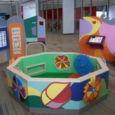 Public Library Design, Children's Library, Library Ideas, Literacy Skills, Early Literacy, Literacy Centers, Sensory Wall, Library Architecture, Library Furniture