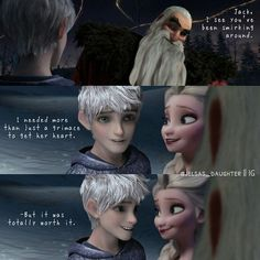 Image discovered by Farida . Find images and videos about elsa, jack frost and jelsa on We Heart It - the app to get lost in what you love. Jelsa, Elsa E Jack, Jack Frost And Elsa, Disney Couples, Cute Couples, Disney Girls, Cute Disney, Disney Art, Disney Stuff