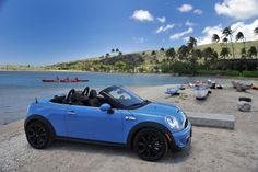 Into the blue with MINI Roadster. #mini