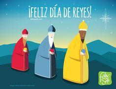 ¡Feliz Día de Reyes! Esperamos que este día recibás los mejores regalos: amor, salud y felicidad. Te desean tus amigos Félix y Sofi