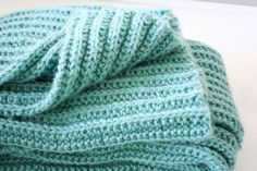 Knitted baby blankets for beginners