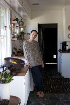 """""""Come and take a walk through my home"""" - Momoko Suzuki for Refinery29 - Via MollyCranna Tumblr"""