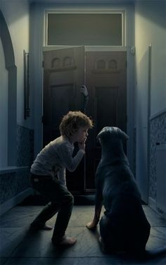 (not) home alone by Adrian Sommeling, vía 1x.com