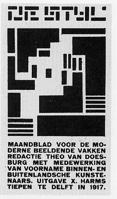 In 1917 Christian Küpper, who adopted the pseudonym Theo van Doesburg, founded the group De Stijl and the periodical of the same name together with architects J. J. P. Oud and Jan Wils, Vilmos Huszár, Piet Mondrian, Bart van der Leck, and Georges Vantongerloo