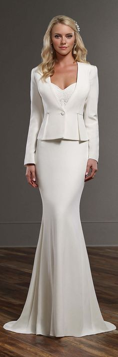 Martina Liana Spring 2016 Wedding Dress 19 - Belle The Magazine