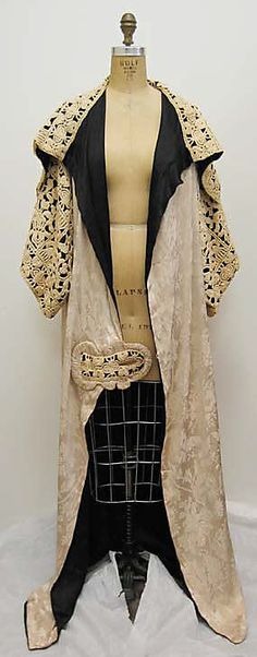 Opera coat Paul Poiret (French, Paris 1879–1944 Paris) Date: 1911 Culture: French Medium: silk. Front