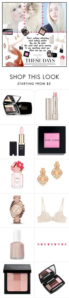 """""""Pale Makeup 🎀"""" by v-designs ❤ liked on Polyvore featuring beauty, Alberta Ferretti, Lancôme, By Terry, L'Oréal Paris, Bobbi Brown Cosmetics, Marc Jacobs, Michael Kors, L'Agent By Agent Provocateur and Essie"""
