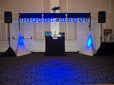 Sheraton Gunter Hotel Stage Lighting