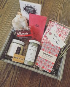 Pretty in Pink #giftboxes #gifts #giftbox #giftideas #denver #milehigh #birthday #celebrate #local #shoplocal #handmade #smallbatch #manofattohomemade